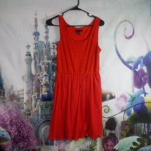 🍁 - ⭐Red city triangles dress